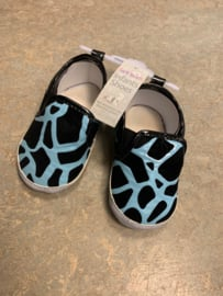 Blue giraffe booties 20/21