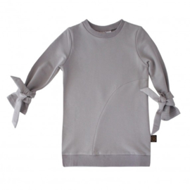 Sweater dress metal grey