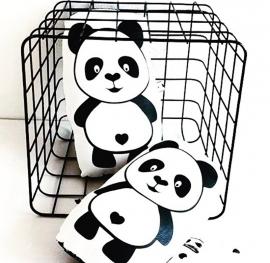 Cuddle me knuffel panda small