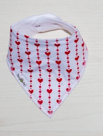Hearts and diamonds bib