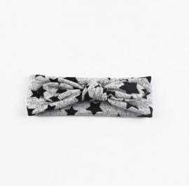 Star headband grey