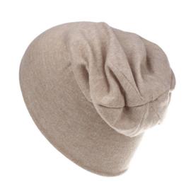 Slouchy beanie camel