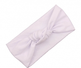 Knot headband white