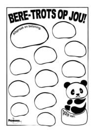 Reward card -  potty training - Beretrots