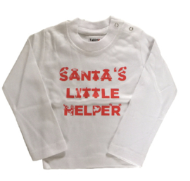Santa's little helper white/red