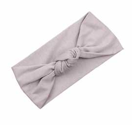 Knot headband grey