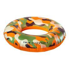 Camouflage zwemband groot
