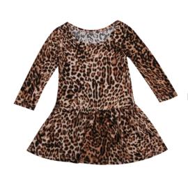 Leopard tunic dress