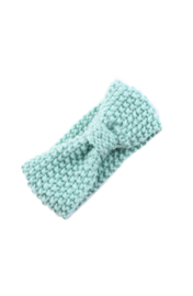 Knitted headband mint