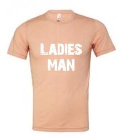 Ladies man adult tee (3 colors)