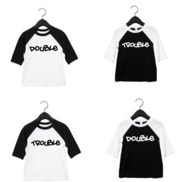 Double trouble baseball shirts (Set)
