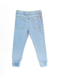 Light splash jeans