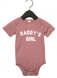 Daddy's girl romper (verschillende kleuren)