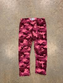 Camo legging pink 110/116