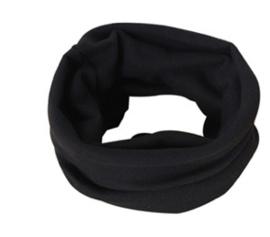 Collar scarf black