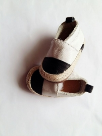 Espadrilles black/white