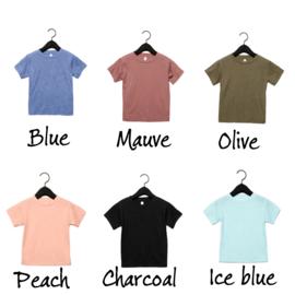 Basic tee (6 colors)