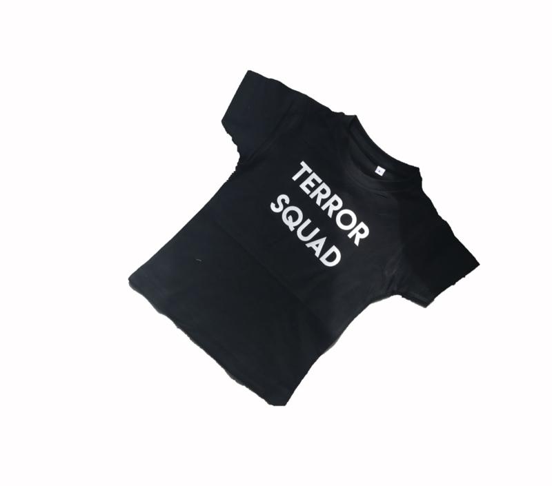 Terror squad  (black/white - lange/ korte mouwen)