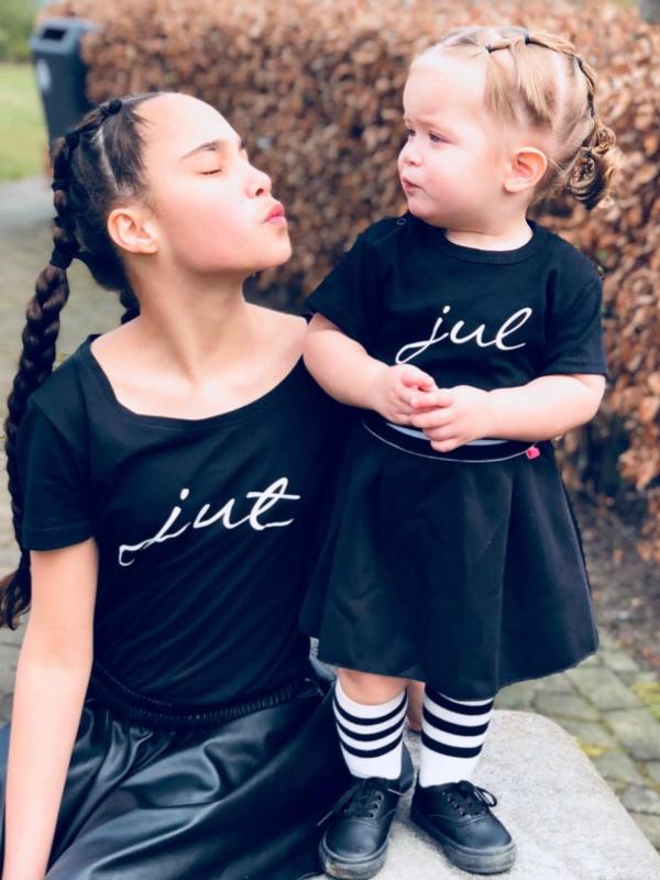 Jut & Jul short sleeve (black/white)