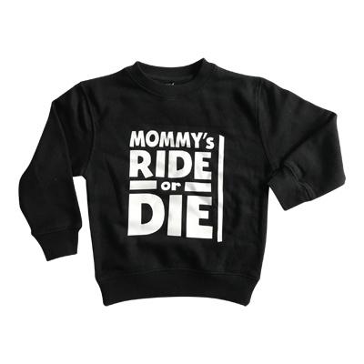 Ride or die sweater
