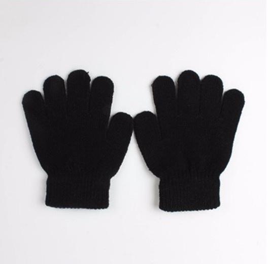 Basic gloves black