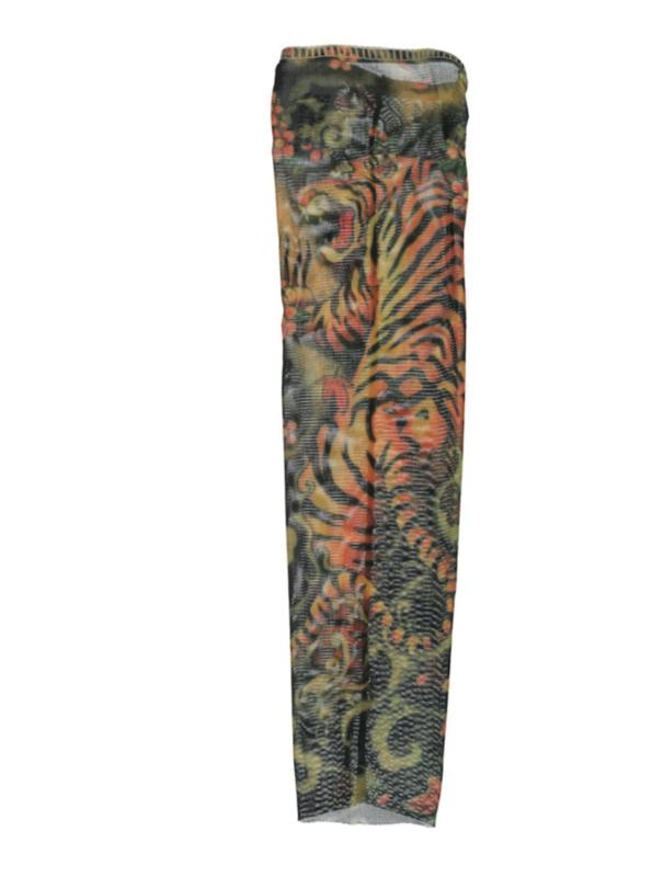 Tattoo sleeve tiger