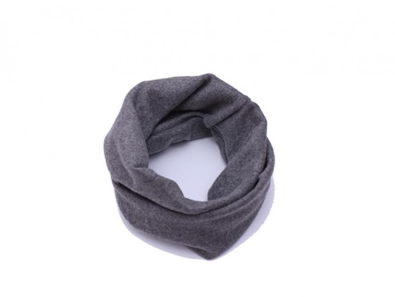 Collar scarf dark grey
