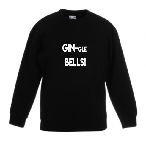 GIN-gle Bells sweater