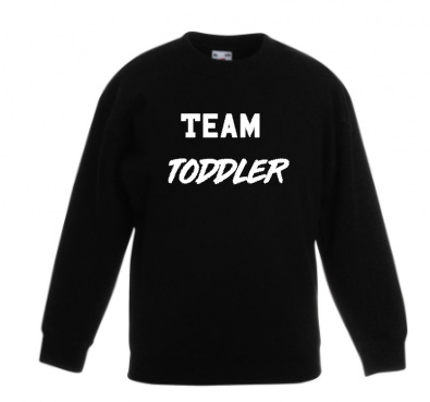 Team toddler (diverse kleuren)