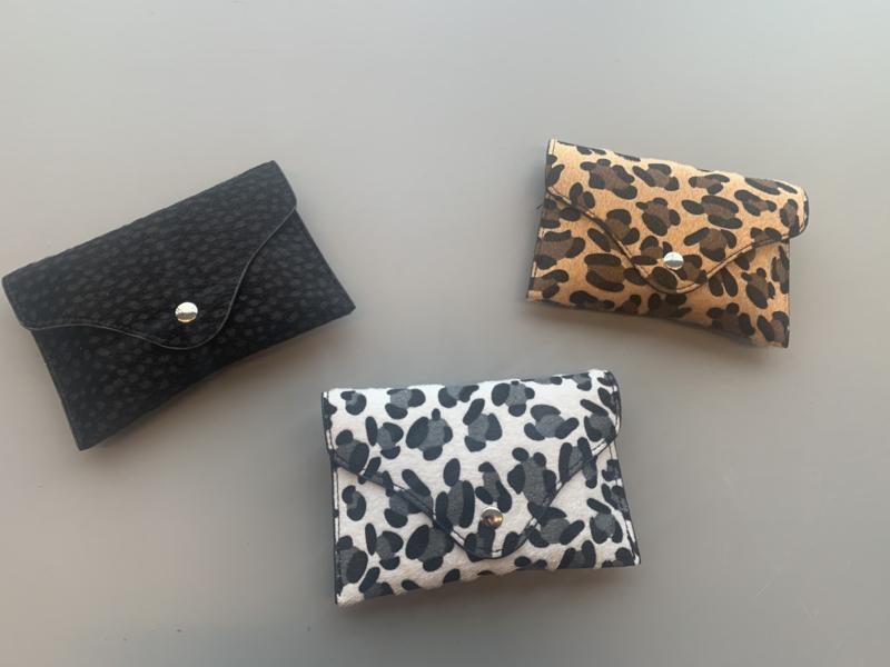 Leopard waist bag mommy