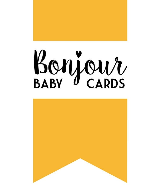 Bonjour! baby cards