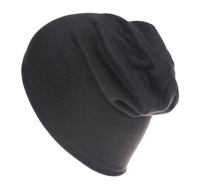 Slouchy beanie  black