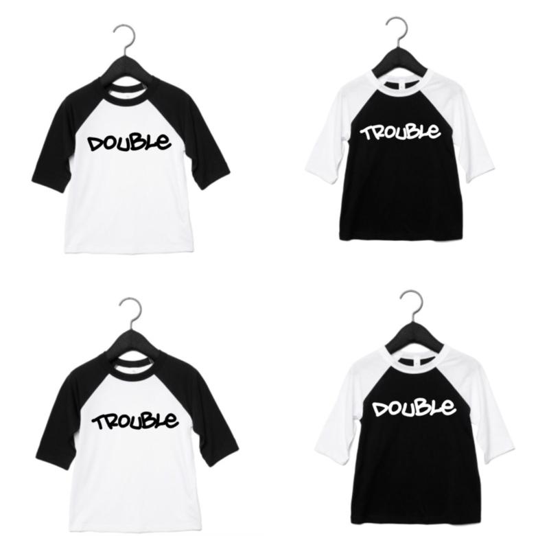 Double trouble baseball shirts (Set)