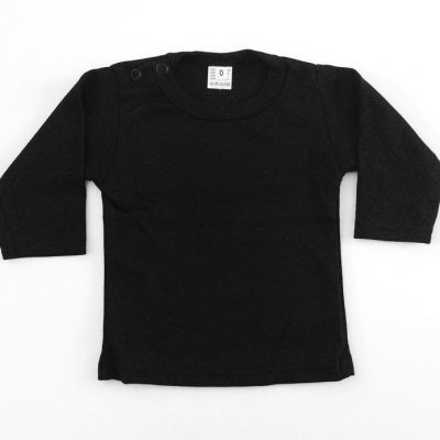 Just black longsleeve shirt