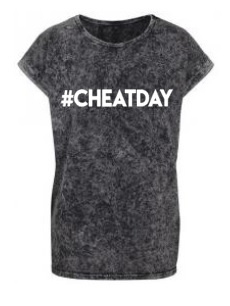 #CHEATDAY mommy washed tee