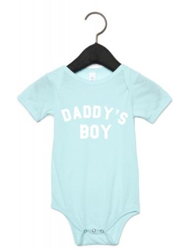 Daddy's boy romper (verschillende kleuren)