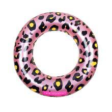 Roze panterprint kinder zwemband