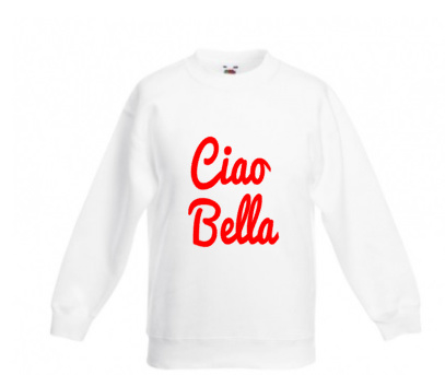 Ciao bella sweater adult