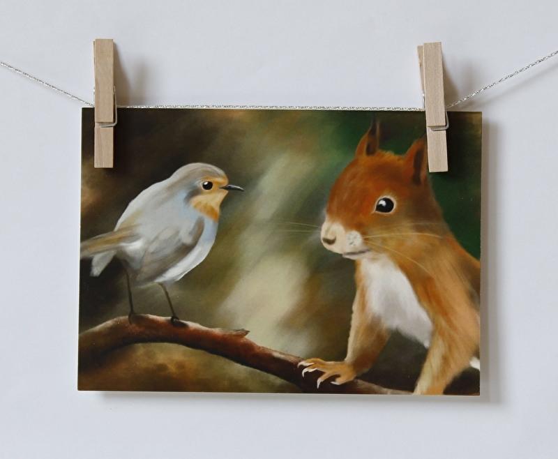Squirrel vs Robyn