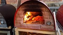 Pizzakar met 2 metallo ovens