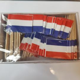 Vlagprikker recht - 144 stuks
