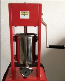 Churros extruder met friteuse