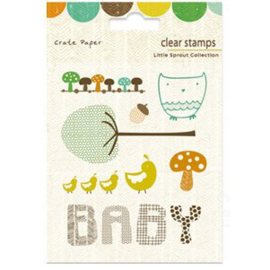 Clear Stamps - Little Sprout Collection