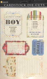 Boy Journal Tags Die-Cuts