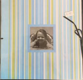 Mini Album Stripe  8x8 - DCWV