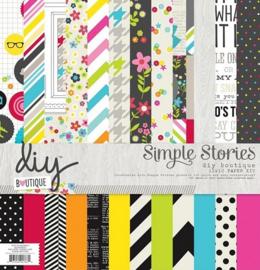 Diy Boutique 12x12 Paper Kit - Simple Stories