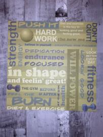 Fitness Collage - Karen Foster