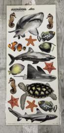 Fish Stickers - Creative Imaginations