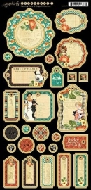 Raining Cats and Dogs Chipboard 1  Graphic 45