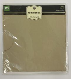 Kraft Pocket Mini Books - Making Memories